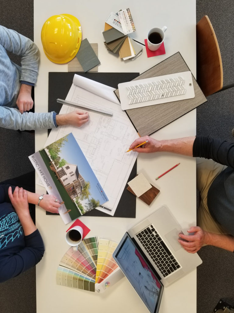 building concepts custom homes team